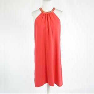 Light red CALVIN KLEIN shift dress 6